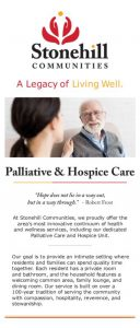 thumbnail of Palliative and Hospice Care Rack Card 2020