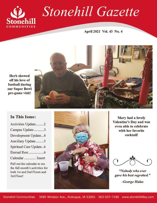 thumbnail of April 2021 Gazette – Final